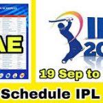 [New PDF download] Ipl Time Table 2021|VIVO IPL 2021 date