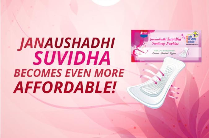 Suvidha Sanitary Napkins Pads Scheme