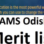 Sams Odisha Merit List 2021|sams login:www.samsodisha.gov.in 2021